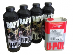 RAPTOR struktuurne pinnakate, must 1L